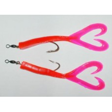 Twin Tail Shrimp 6/0 Hook (2 Pack)