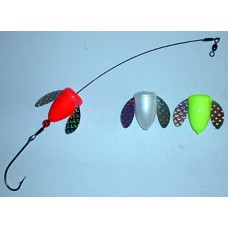 Spin-N-Glo Bluefish with 6/0 Hook, 80lb. Test Wire