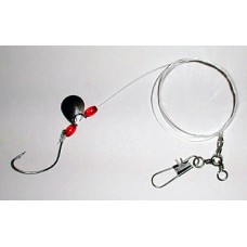Fluke Rig with 2/0 Wide Gap Hook & Spinner Blade