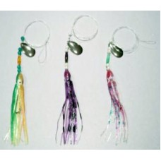 Southern Spinner Fluke Rig with 4.5 Inch Skirt & 2/0 Wide Gap Hook